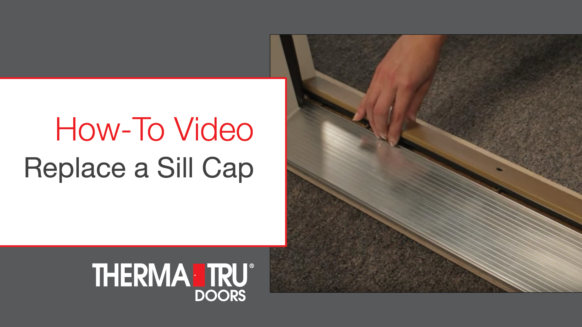 Video Gallery Therma Tru Doors