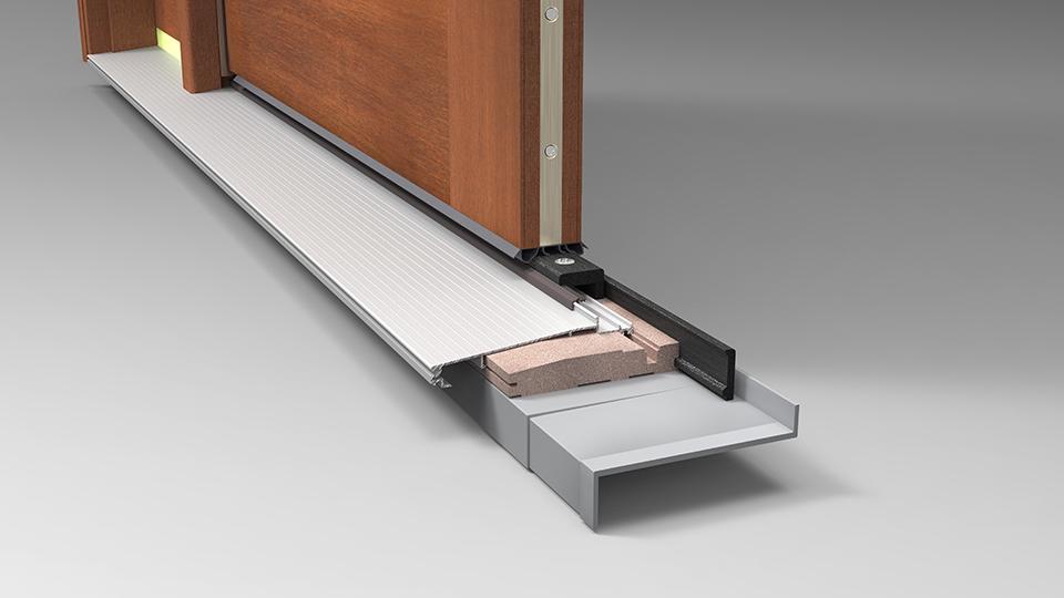 Door system components therma tru doors therma tru doors for Exterior door corner seal pads