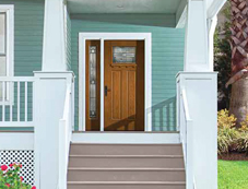 Decorative specialty glass therma tru doors for Therma tru maple park
