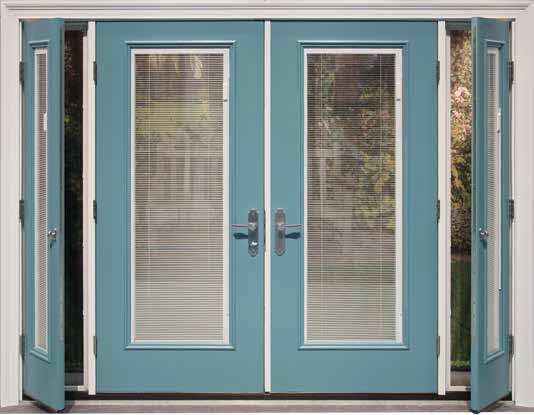 Screen Vented Sidelites Therma Tru Doors
