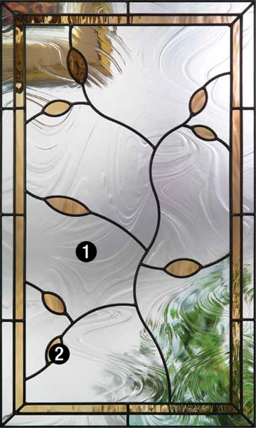 Avonlea 174 Decorative Amp Specialty Glass Therma Tru Doors