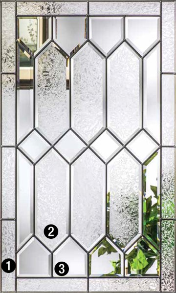 Crystalline Decorative Amp Specialty Glass Therma Tru Doors