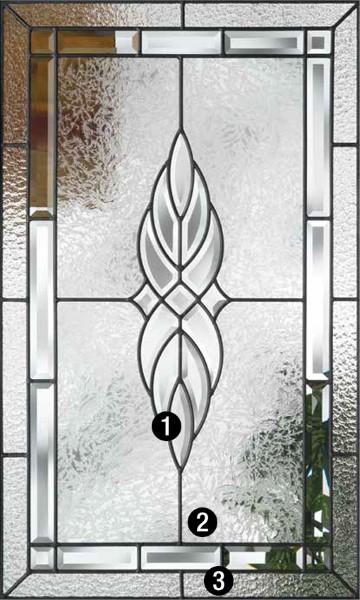 Kensington Decorative Amp Specialty Glass Therma Tru Doors