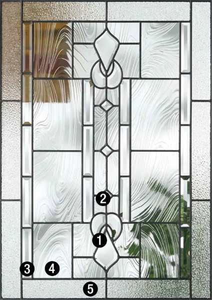 Lucerna 174 Decorative Amp Specialty Glass Therma Tru Doors