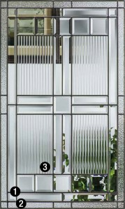 Saratoga Decorative Amp Specialty Glass Therma Tru Doors