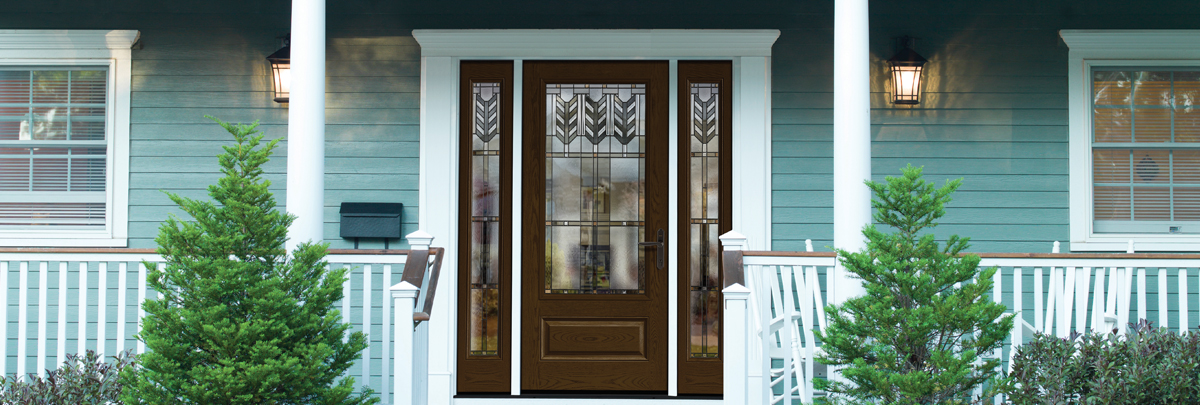 The Right Mouldings Railings And Column Wraps Can Extend Beauty Of Your New Door Across Porch Or Entryway
