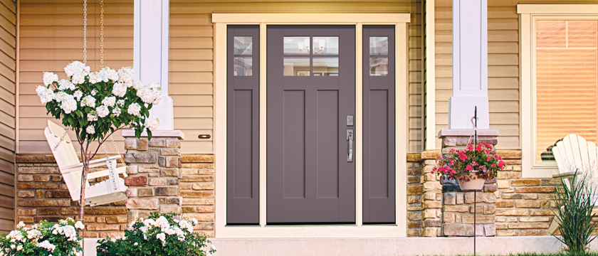 Smooth Star® Shaker Style Doors And Sidelites
