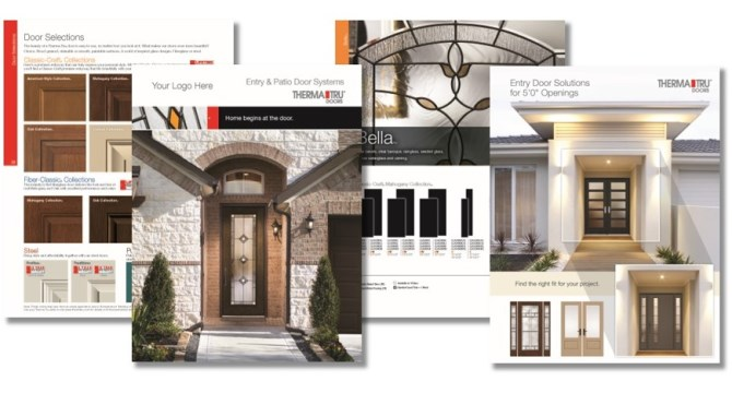 Customized Marketing For Professionals Therma Tru Doors